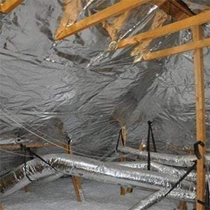 Super Radiant Barrier Plus Perforated Aluminium Insulation Rolls - All Sizes Attic Insulation