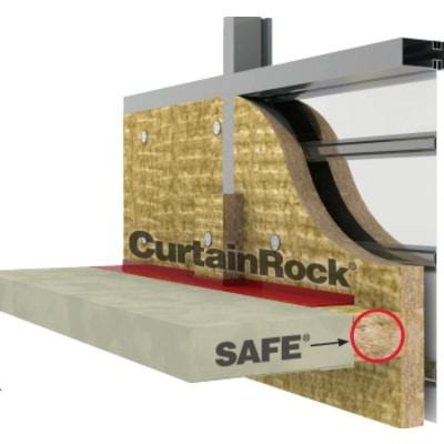 Rockwool Unfaced CurtainRock 40 - All Sizes Rockwool