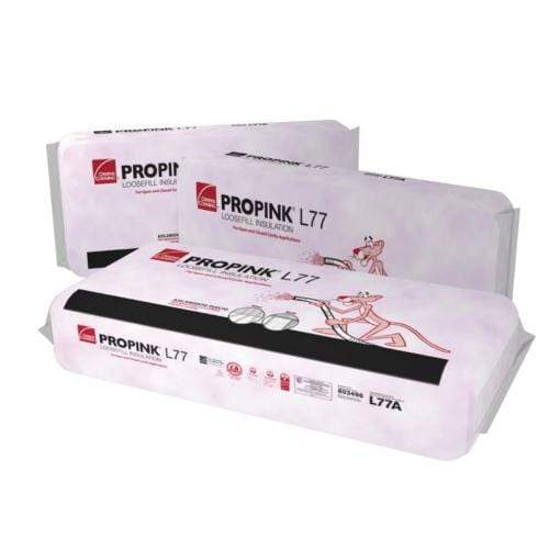 Owens Corning PROPINK  L77 PINK Fiberglas Unbonded Loosefill Insulation Shop By Product Brand