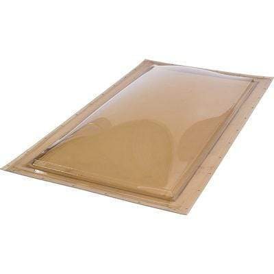 Fixed Self Flashing Impact Polycarbonate Skylight - Bronze/Clear Skylight
