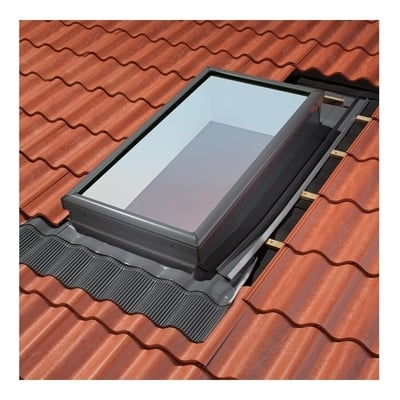 Image of Aluminium Flashing Kit For curb mount tile roof skylights