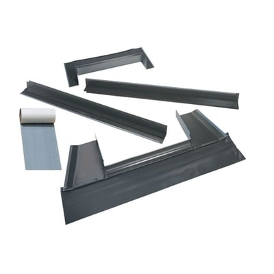 Aluminium Flashing Kit For deck mount metal roof skylights