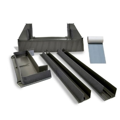 Aluminium Flashing Kit For deck mount tile roof skylights