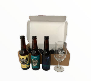 Stinky Bay Gift Set with Stemmed Glass