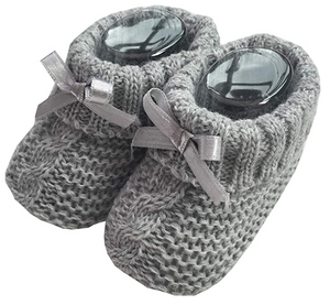Pair of Knitted Booties Newborn