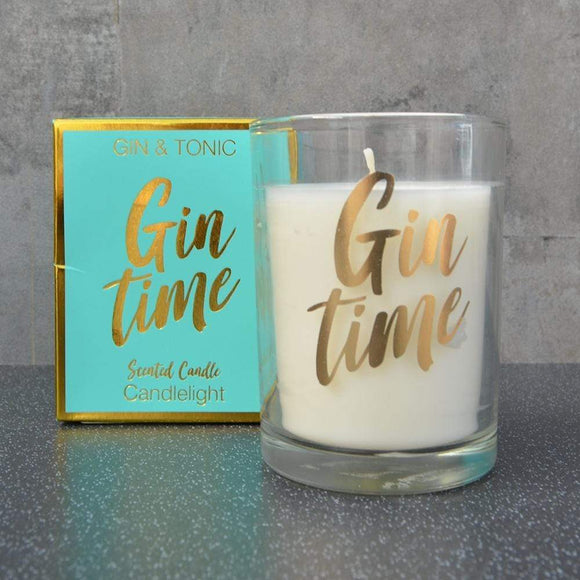 Gin and Tonic Scented Candle in Gift Box
