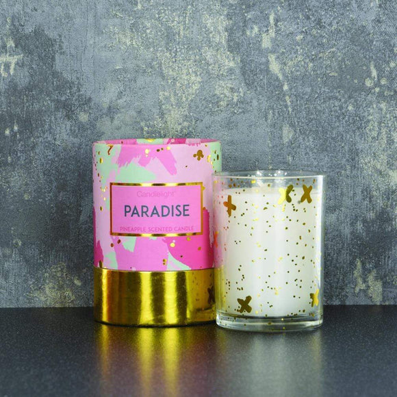 Paradise Candle - Pineapple Scent 220g