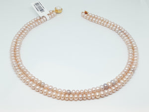 Pink Pearl Strands/047