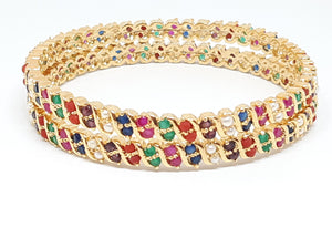Multicolored Bangles