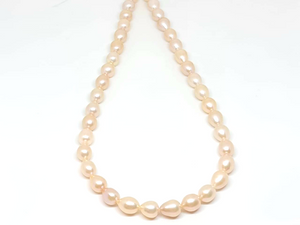 Peach Pearl Necklace/006