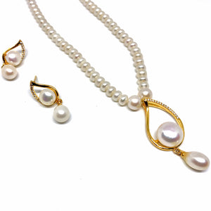 Pearls Necklace Set/006