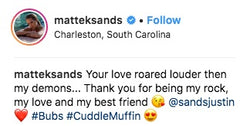 Bethanie Mattek Sands Instagram Quote
