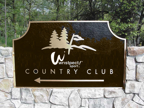 Country Club Sign