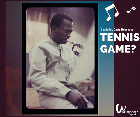 Image of Legendary musician Miles Davis- Can Miles Davis Help your Tennis Game?