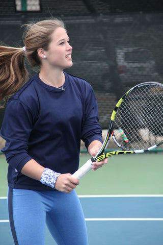 Katy Gehring- accomplished junior tennis player