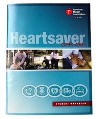 CPR AED Heartsaver booklet