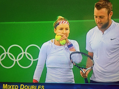 Bethanie Mattek-Sands and Jack Sock