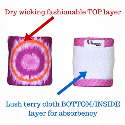inside out view of two layers of cloth