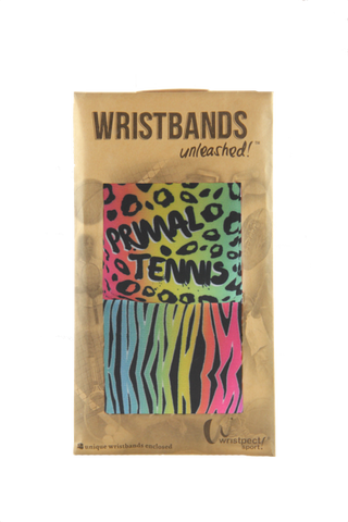 Primal Colors double wristband package