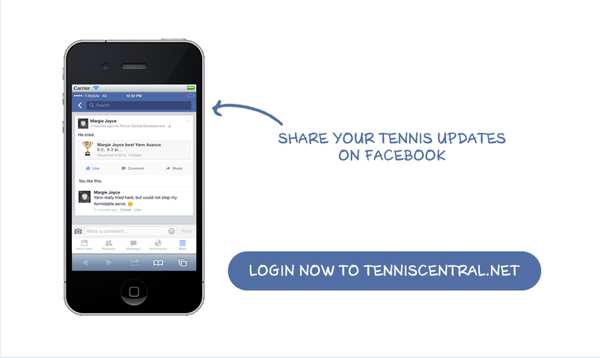 Tennis Central's iPhone app details shared by Wristpect Sport