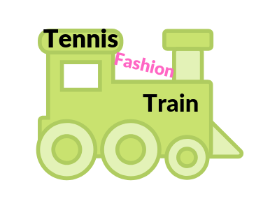 Tennis Fashion Train with link to video by Wristpect Sport