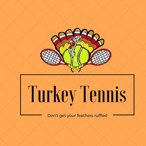 Wristpect Sport shares a whimsical image on 'Turkey Tennis'