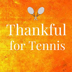 Thankful for Tennis by Wristpect sport image