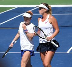 Bethanie Mattek-Sands and Coco Vandeweghe fed cup
