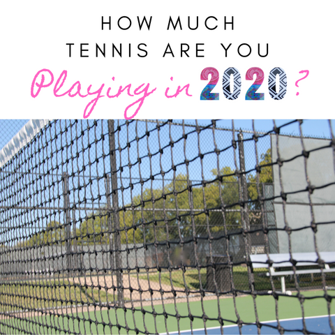How Much Tennis are You Playing in 2020 image by Wristpect Sport