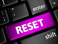 Reset button image