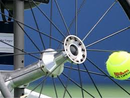Wheelchair with tennis ball image shared by Wristpect sport