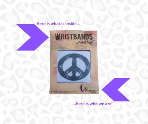 InnerPeace in packaging with wristbands unleashed