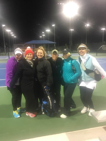 Team Monarch at the USTA National Campus