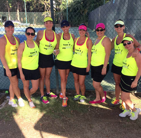 Wristpect Sport Tennis AnyWON Tank tops on tennis team