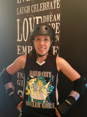 Sparky Anderslam Roller Derby Jammer photo shared by Wristpect Sport