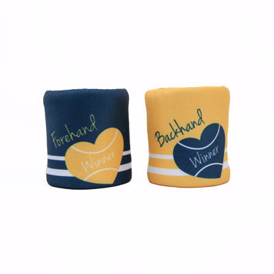 Forehand & Backhand Wristband Set