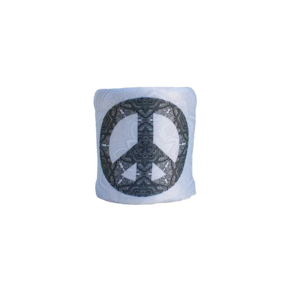 Inner Peace wristband black and white wristband single