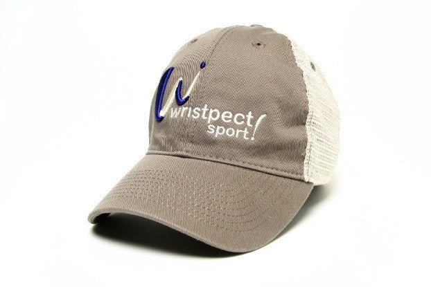 The Deuce trucker cap with wristpect sport logo