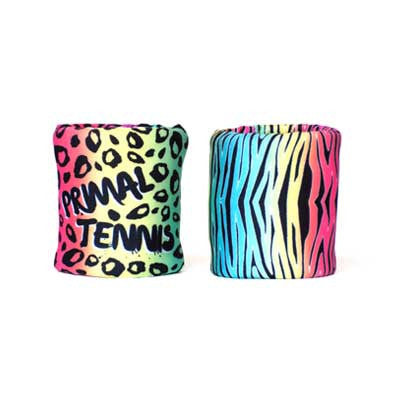 Primal Colors wristband double set with 2 ply absorption