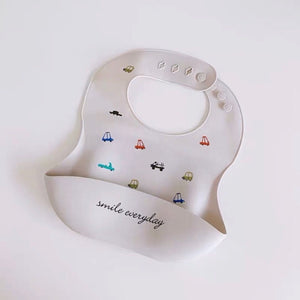 Smile Everyday Silicon Bib