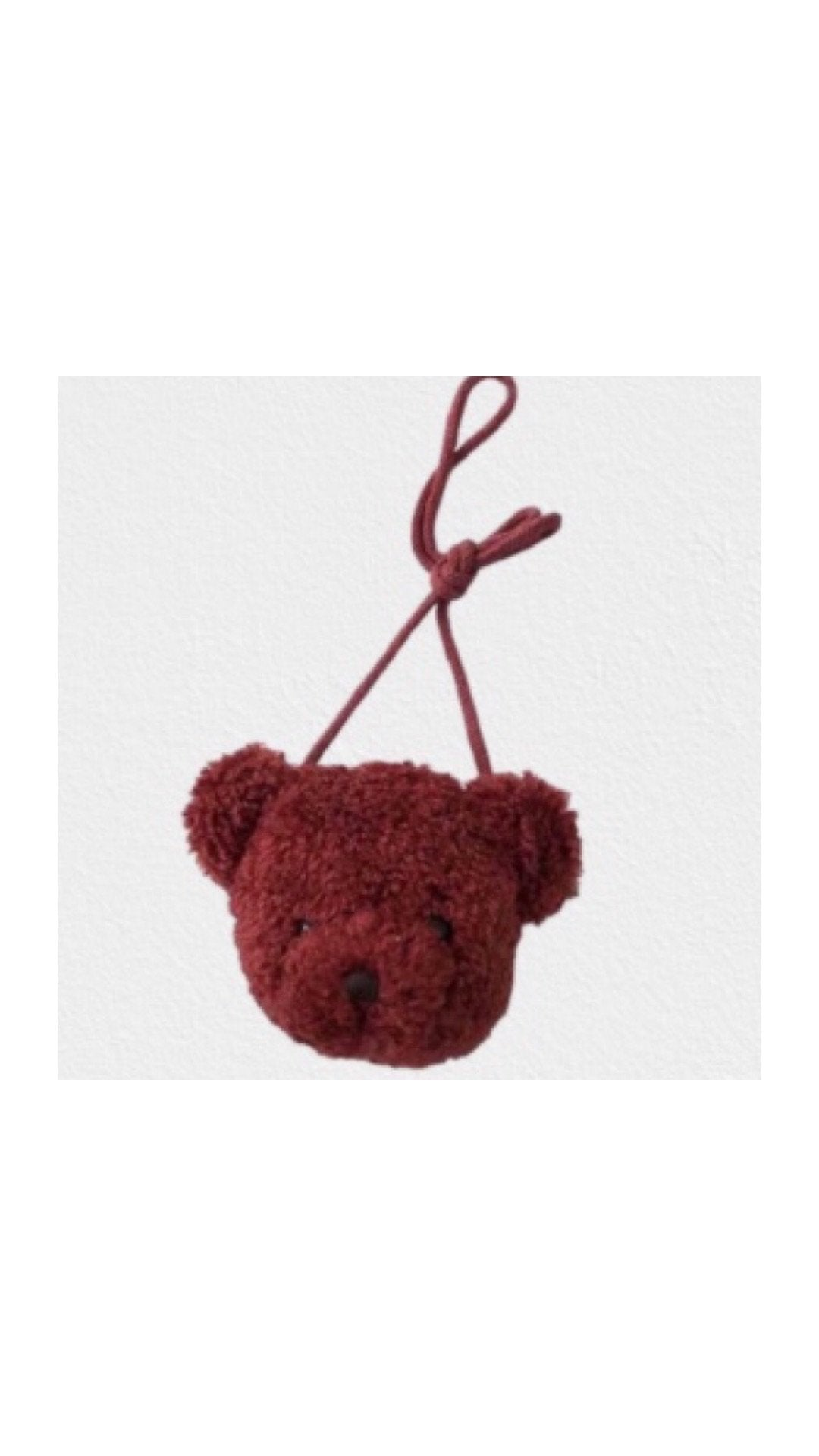 Mini Bear Crossbody Bag