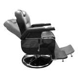 Premium Extra Wide Hydraulic Recline Barber Chair - BC 601