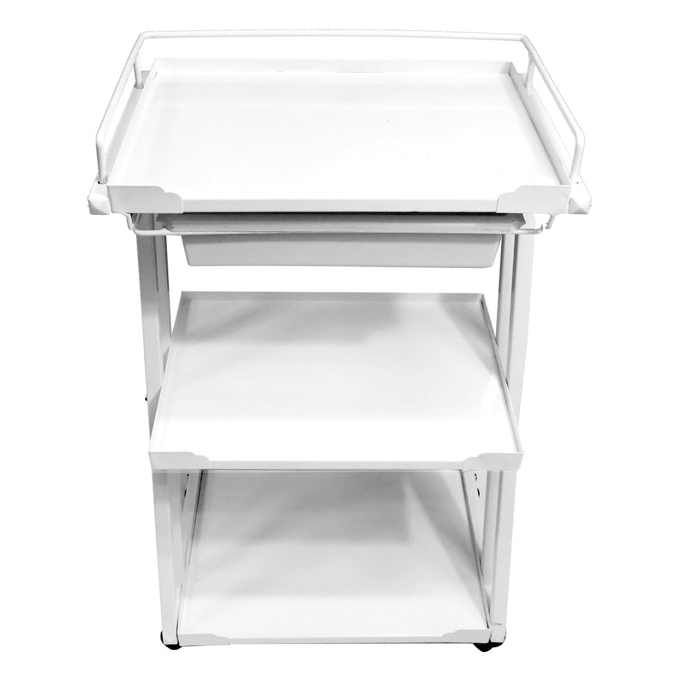 Beauty Metal FrameTrolley with One Drawer - ST311