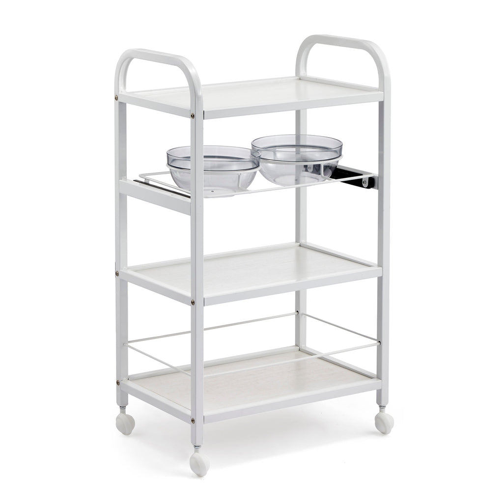 Beauty Metal Frame Trolley with Two Bowl Holders - ST381 - Greenlife