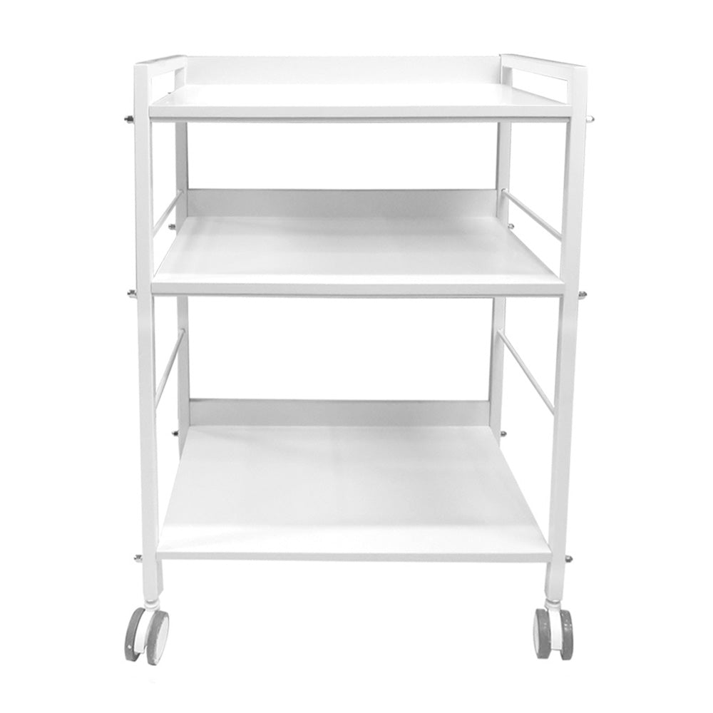 Beauty Metal Frame Three Shelves Trolley - ST411 - Greenlife