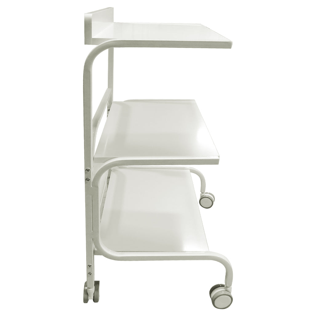 Beauty Metal Frame Three Shelves Trolley - ST431 - Greenlife