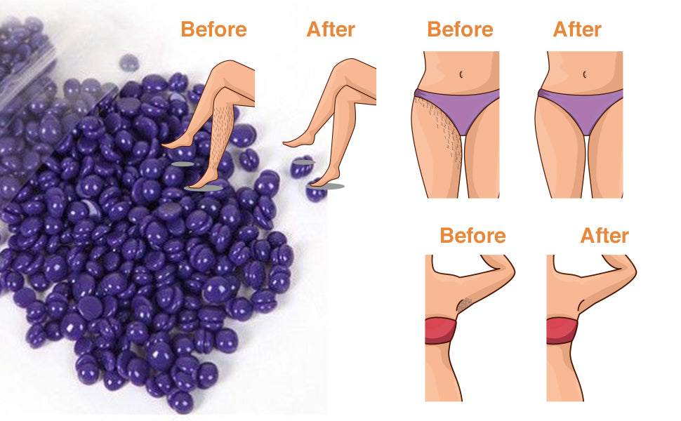 100g/300g/500g/1000g Hard Wax Beads for Hair Removal