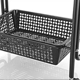 Beauty Metal Frame Trolley with Side Basket - ST511 - Greenlife