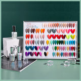 Gel Nail Polish Sets - 6 Colors