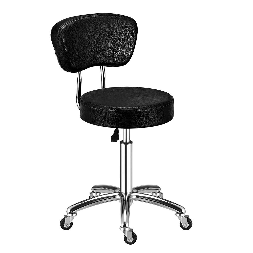 Deluxe Hydraulic Adjustable Height Rolling Stool - RSWB451